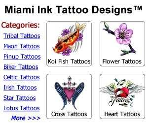 Miami Ink Tattoo Designs Price